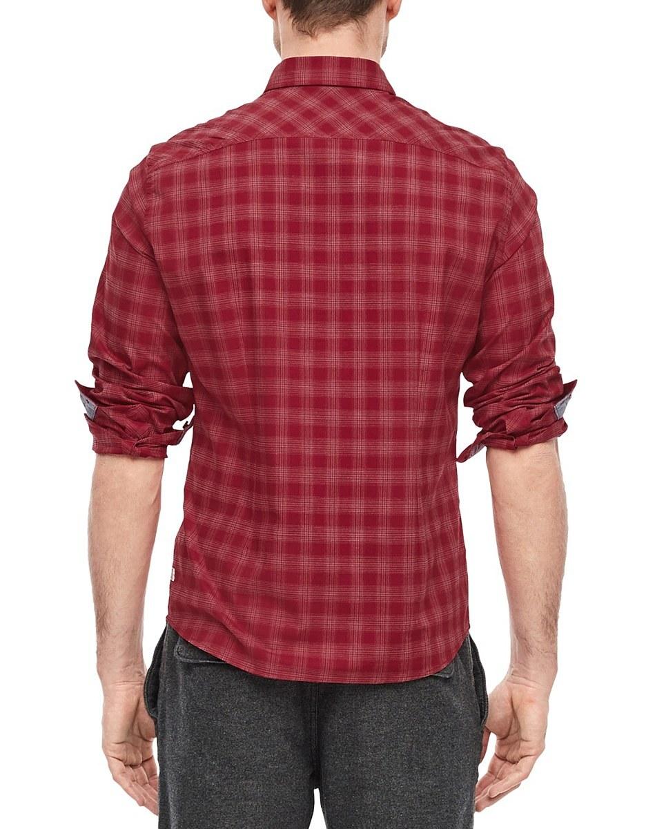 Bild 3 von s. Oliver - Hemd mit Kentkragen in modischem Karo-Muster