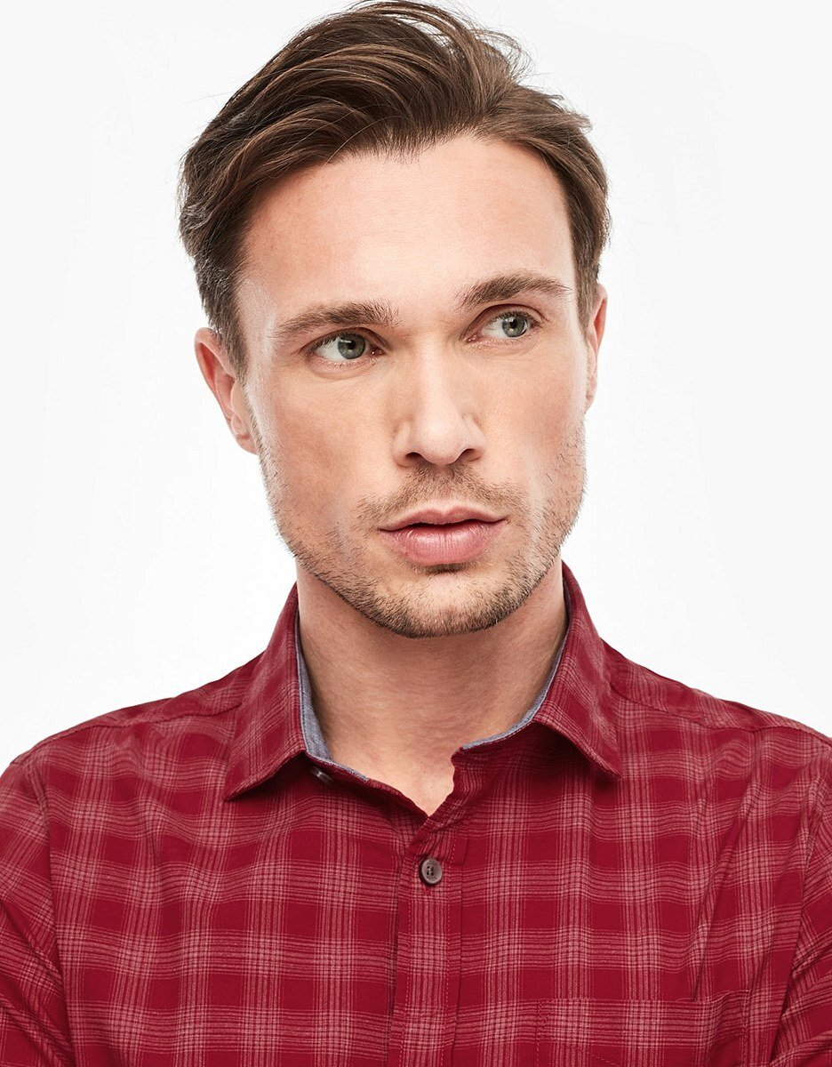 Bild 5 von s. Oliver - Hemd mit Kentkragen in modischem Karo-Muster