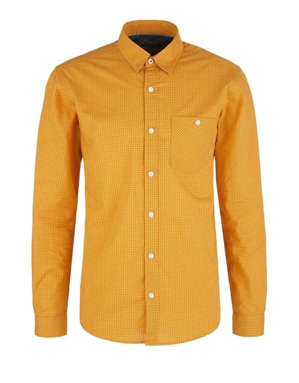 s. Oliver - Hemd in klassischem Vichykaro-Muster