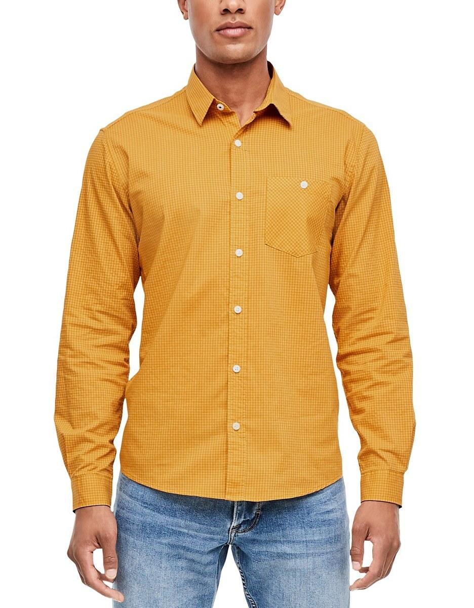 Bild 2 von s. Oliver - Hemd in klassischem Vichykaro-Muster