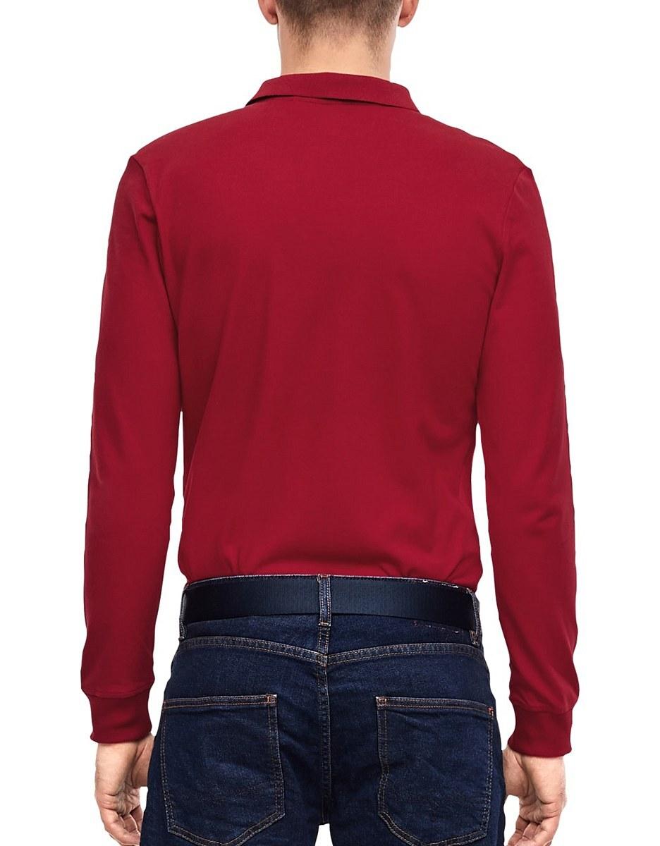 Bild 3 von s. Oliver - Langarm-Poloshirt aus Piqué