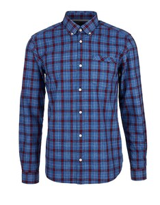 s. Oliver - Button Down-Hemd, kariert