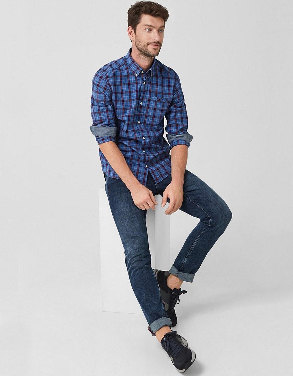 Bild 4 von s. Oliver - Button Down-Hemd, kariert