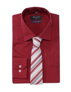 Bexleys man - Hemd/Krawatten-Set, langarm, uni, REGULAR FIT