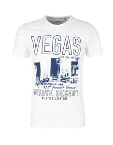 s. Oliver - T-Shirt mit modernerm Print