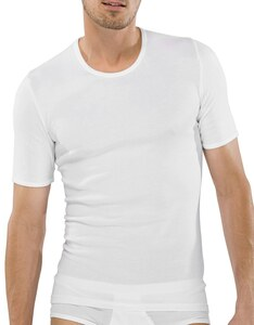 Schiesser - Shirt kurzarm Feinripp - Original Classics