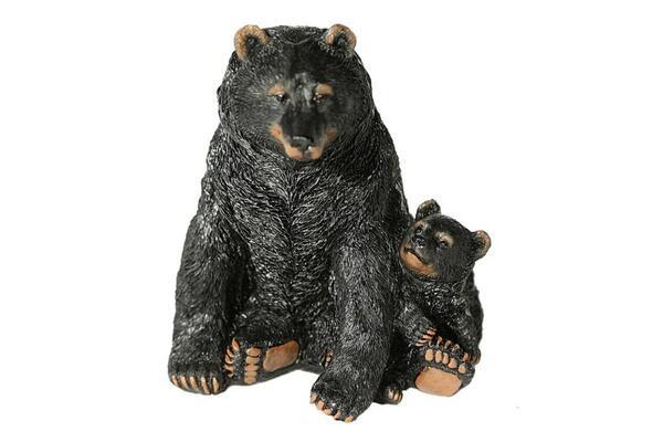 Casa Collection - Schwarzbär mit Jungen