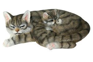 Casa Collection - Katze mit Jungen liegend