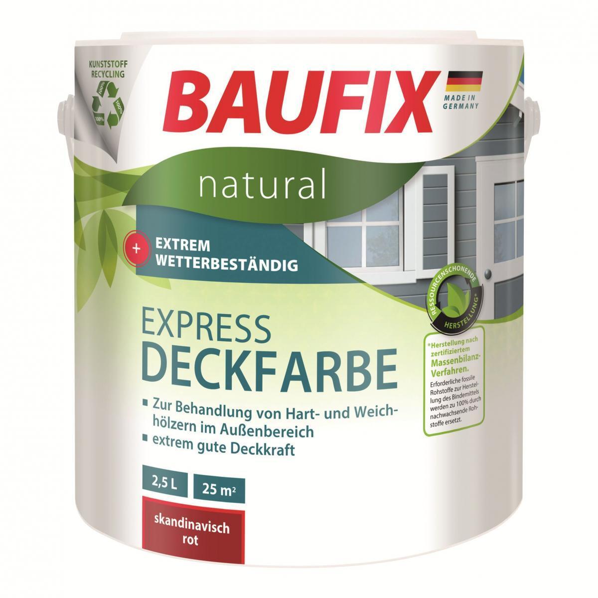 Bild 1 von BAUFIX natural Express-Deckfarbe weiß