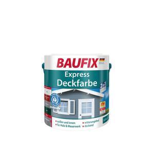 BAUFIX Express Deckfarbe hellgrau