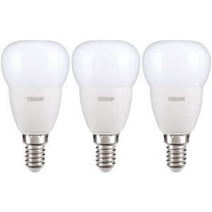 "Osram LED Leuchtmittel ""Tropfen"", 5 W, E14 - 3er Set"