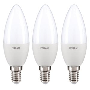 "Osram LED Leuchtmittel ""Kerze"", 5 W, E14 - 3er Set"