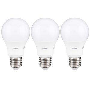 """Osram LED Leuchtmittel """"Birne"""", 8,5 W, E27 - 3er Set"""