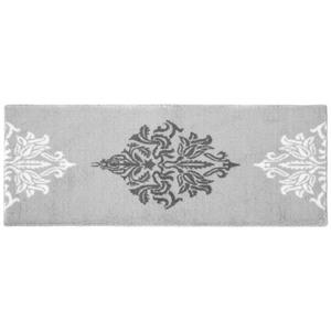 "Bella Casa Badeteppich-Läufer ""Style & Soft"" - Ornament Grau"