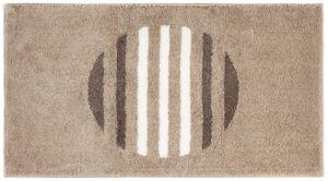 Sensino XXL-Design-Badteppich, Circle Stripes