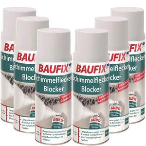 BAUFIX Schimmelfleckenblocker Spray 6er-Set