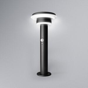 Ledvance LED Solar Außenleuchte ENDURA STYLE SOL 2CIRCLE 40cm hoch 6W BK, Schwarz