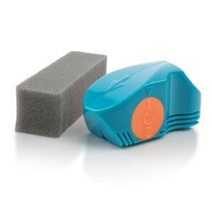 Clean Cut Scheibenwischerschneider und Schwämmchen, petrol-orange