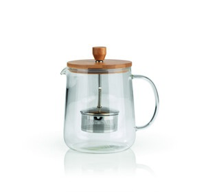 BEEM Teekanne Glas 1l mit Siebeinsatz