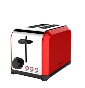 Kitchenbasic Doppelschlitz-Toaster DST 1700-L - Rot