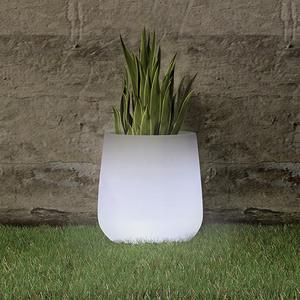 LED-Blumentopf Camelia