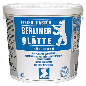 Berliner Glätte Flächen-Feinspachtel Berliner Glätte Finish Pastös