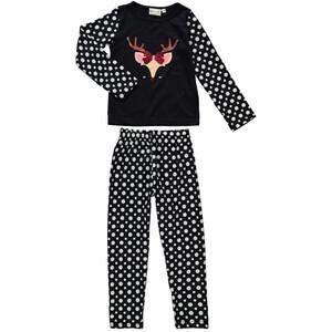 Mädchen Pyjama Set mit lustigem Print