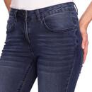 Bild 4 von 7/8 Damen Slim-Jeans mit Used-Waschung