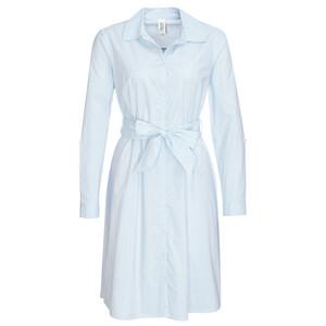 Damen Hemdblusenkleid im Streifen-Look