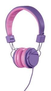 IDEENWELT Kinder-Kopfhörer lila, pink
