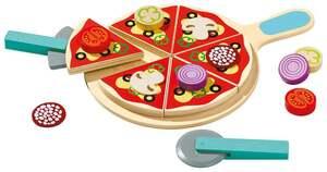 IDEENWELT Holz-Pizza