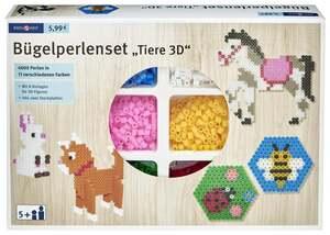 """IDEENWELT Bügelperlenset """"Tiere 3D"""""""