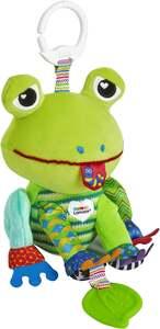 IDEENWELT Lamaze Babyplüsch Quassel-Frosch Jake