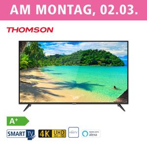50UD6306 • 3 x HDMI, 2 x USB, CI+ • integr. Kabel-, Satund DVB-T2-Receiver • Maße: H 66 x B 113,1 x T 7,8 cm • Energie-Effizienz A+ (Spektrum A++ bis E)