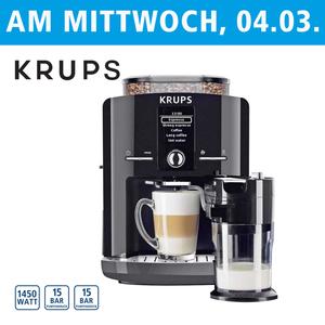 Kaffee-Vollautomat One Touch Cappuccino Latt´Espress EA8298.TC • autom. Milchsystem- Reinigungsprogramm • abnehmbarer Milchbehälter • Claris-Aqua-Filtersystem