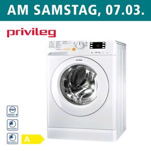 Waschtrockner PWWT X 86G4 DE • Kurzprogramme, Sportprogramm + Antiflecken-Option • Mengenautomatik • Maße: H 85,0 x B 59,5 x T 54,0 cm • Energieeffizienz A (Spektrum: A+++ bis D)