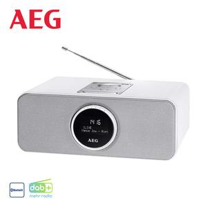 DAB+-Radio SR 4372 BT mit Bluetooth • PLL-UKW-Radio mit RDS • Uhr- und Alarm-Funktion • USB-Anschluss, Aux-In