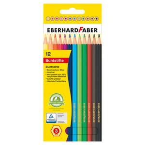 Eberhard Faber Buntstifte 12 Stück, je 3 mm