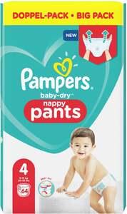 Pampers Höschenwindeln baby-dry Größe 4 (9-15 kg) Doppelpack