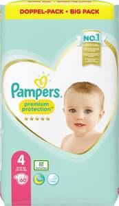 Pampers premium protection Windeln Gr. 4 (9-14 kg) Doppelpack