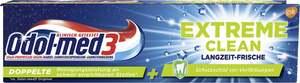 Odol med3 Extreme Clean Langzeit-Frische Zahncreme
