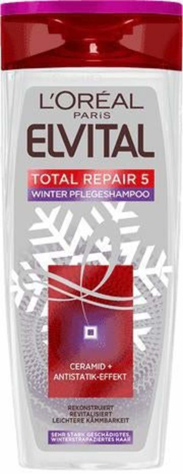 L'Oréal Paris Elvital Total Repair 5 Limited Winter Edition Shampoo