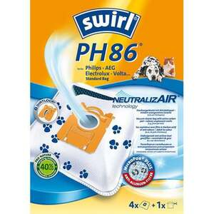 Swirl MicroPor® Plus PH86 Staubsaugerbeutel
