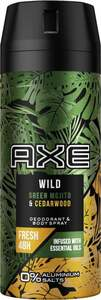 AXE Deodorant & Bodyspray Wild Green Mojito & Cedarwood