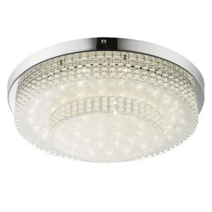 home24 LED-Deckenleuchte Cake II