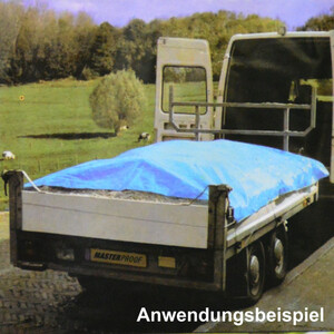 Anhänger Abdeckplane 2,65 x 1,45 m blau