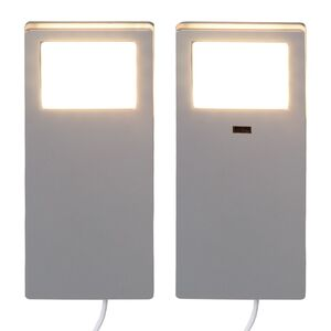 home24 LED-Einbaustrahler Talvik (2-teilig)