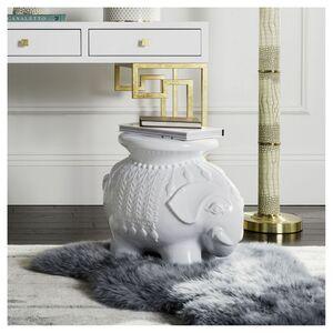 home24 Keramikhocker Elefanten