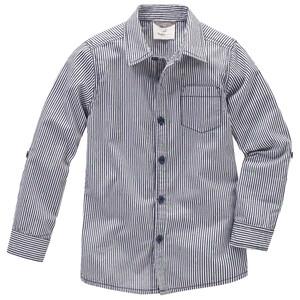 Jungen Hemd im Streifen-Look