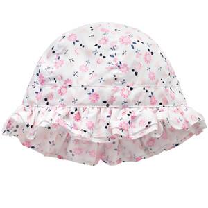 Baby Mütze mit Blümchen-Print